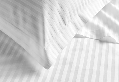 300 Thread Count Sateen Stripe Sale