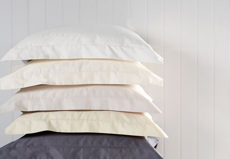 400 Thread Count Sateen Plain Dye Sheets Sale