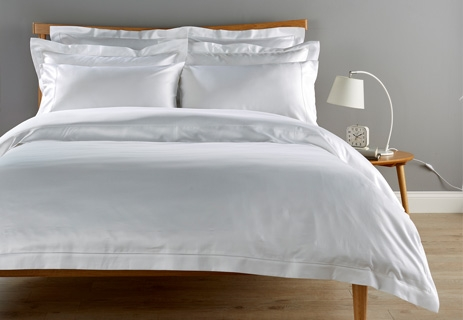 900 Thread Count Sateen with Picot Detail