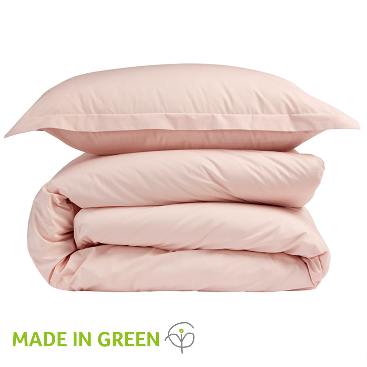 An image of 200 Easycare Double Fitted Sheet Blush