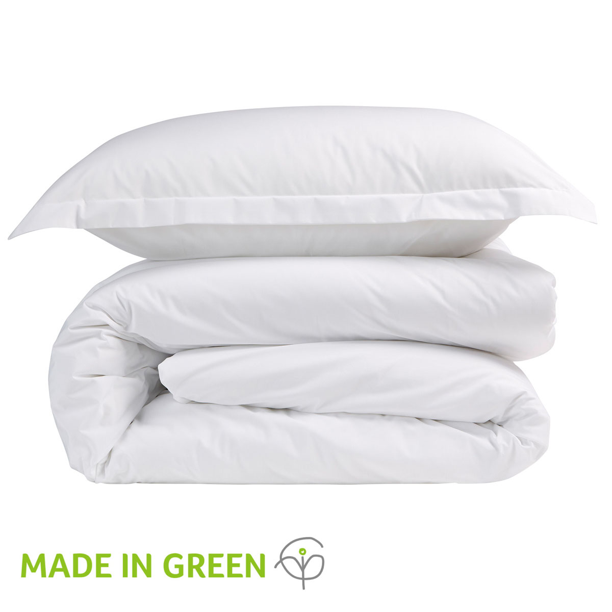 An image of 200 Easycare Double Fitted Sheet White