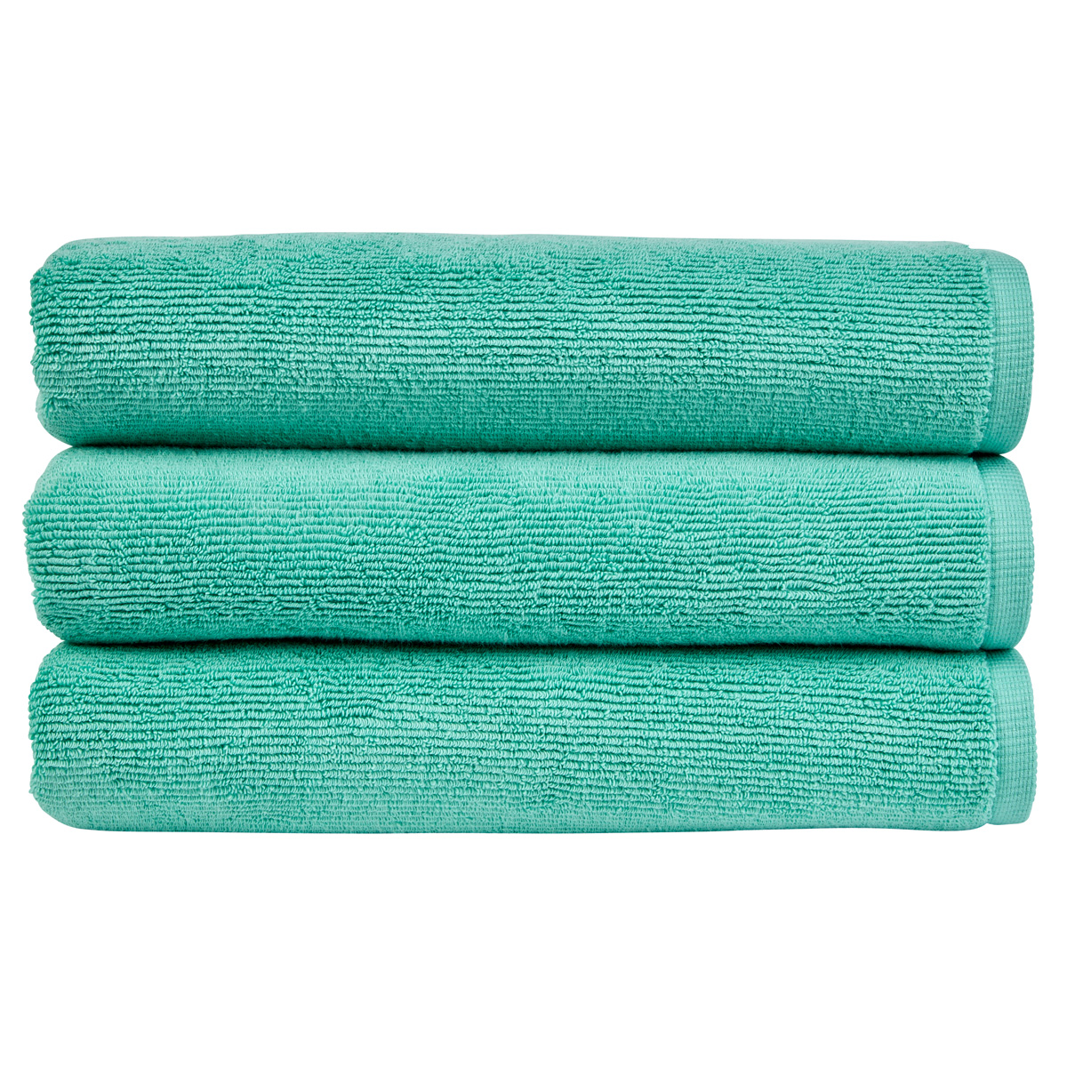 An image of Luxury Brighton Hand Towel in Mint (Green) by Christy