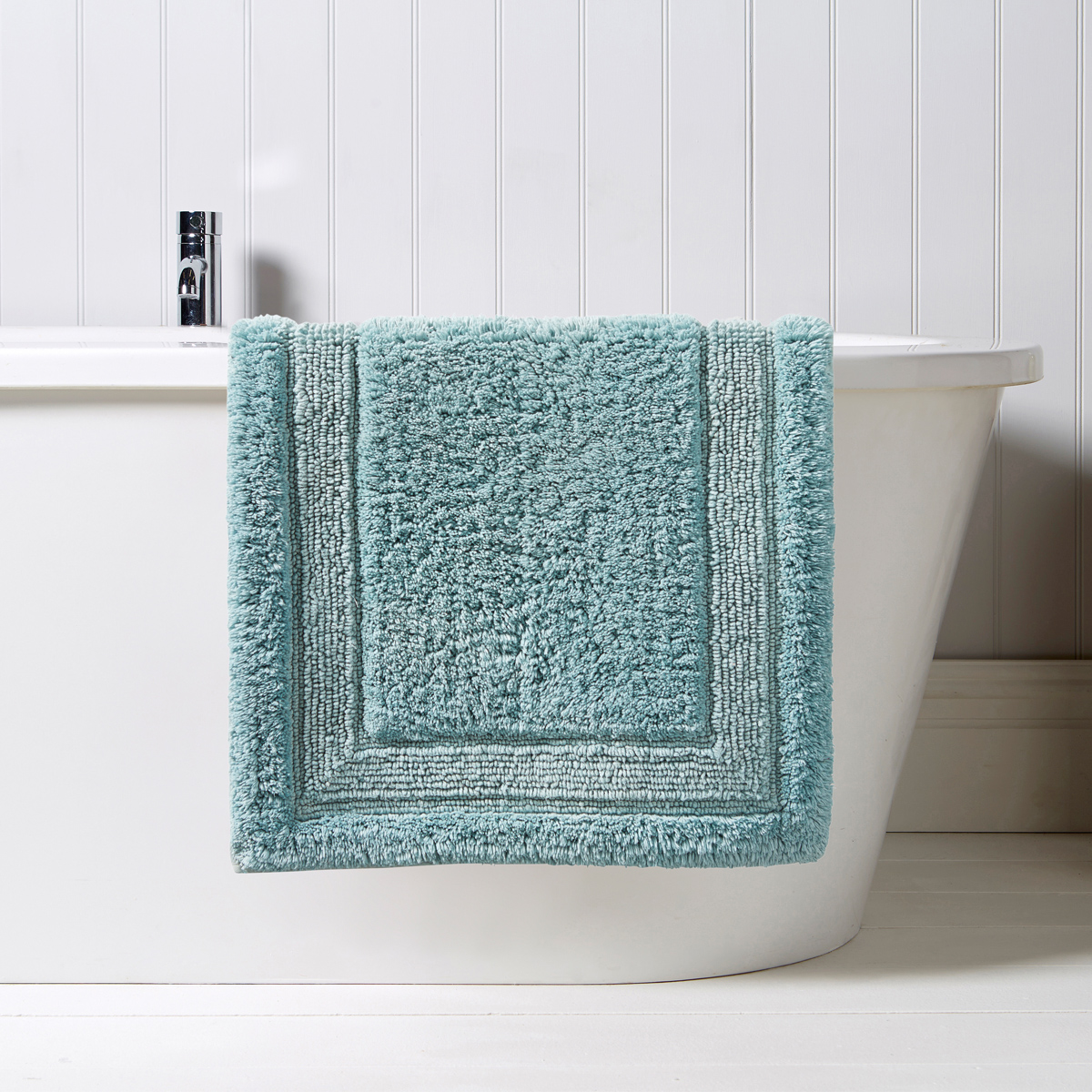 Christy Camden Bath Rug Spa Blue Christy