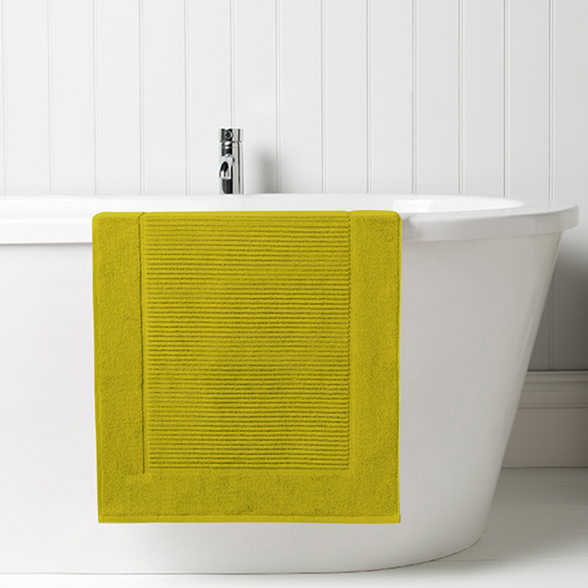 Christy Supreme Bath Mat Chartreuse Christy