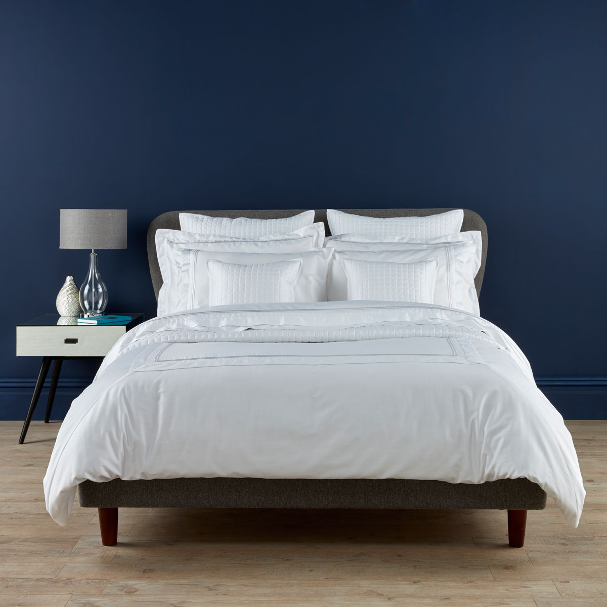 Coniston Bed Linen White Christy