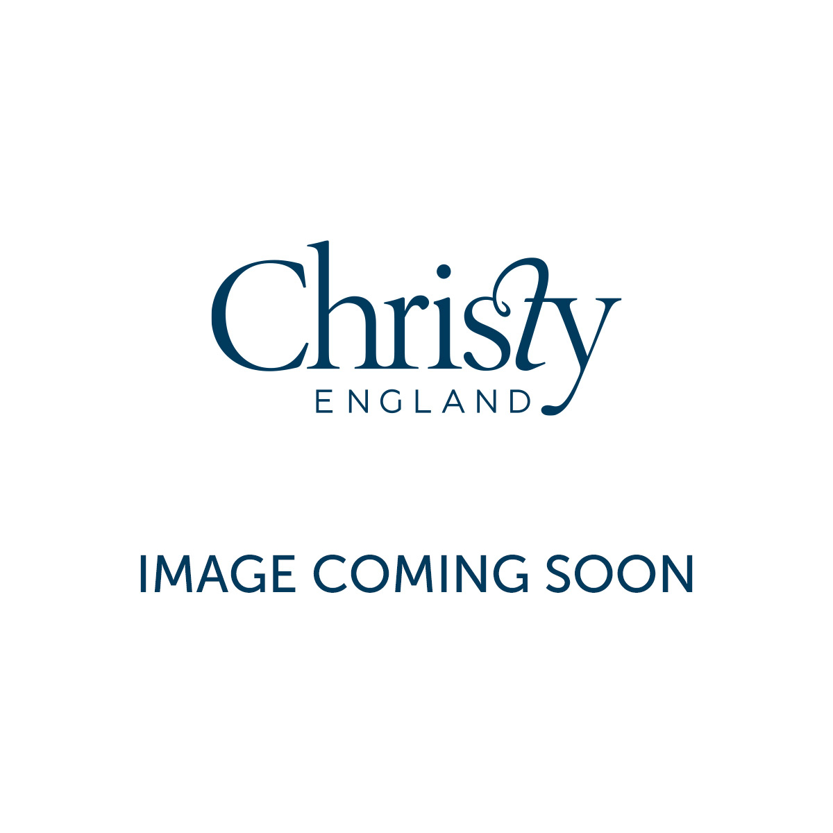 Christy Easycare Percale Plain Dye White