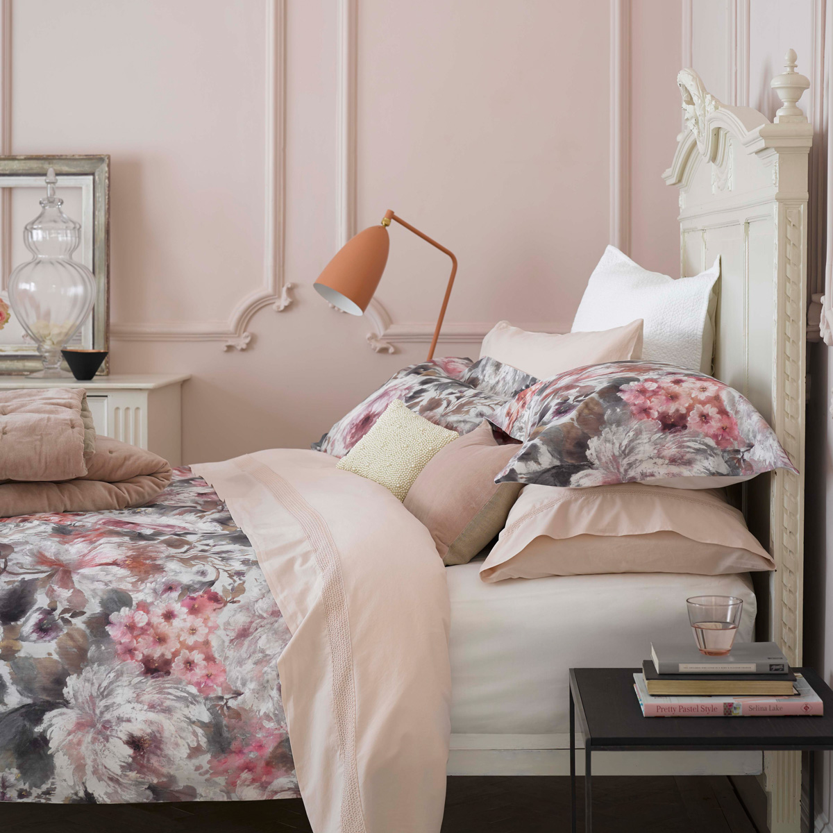 Christy Harlow Bed Linen Pink Christy