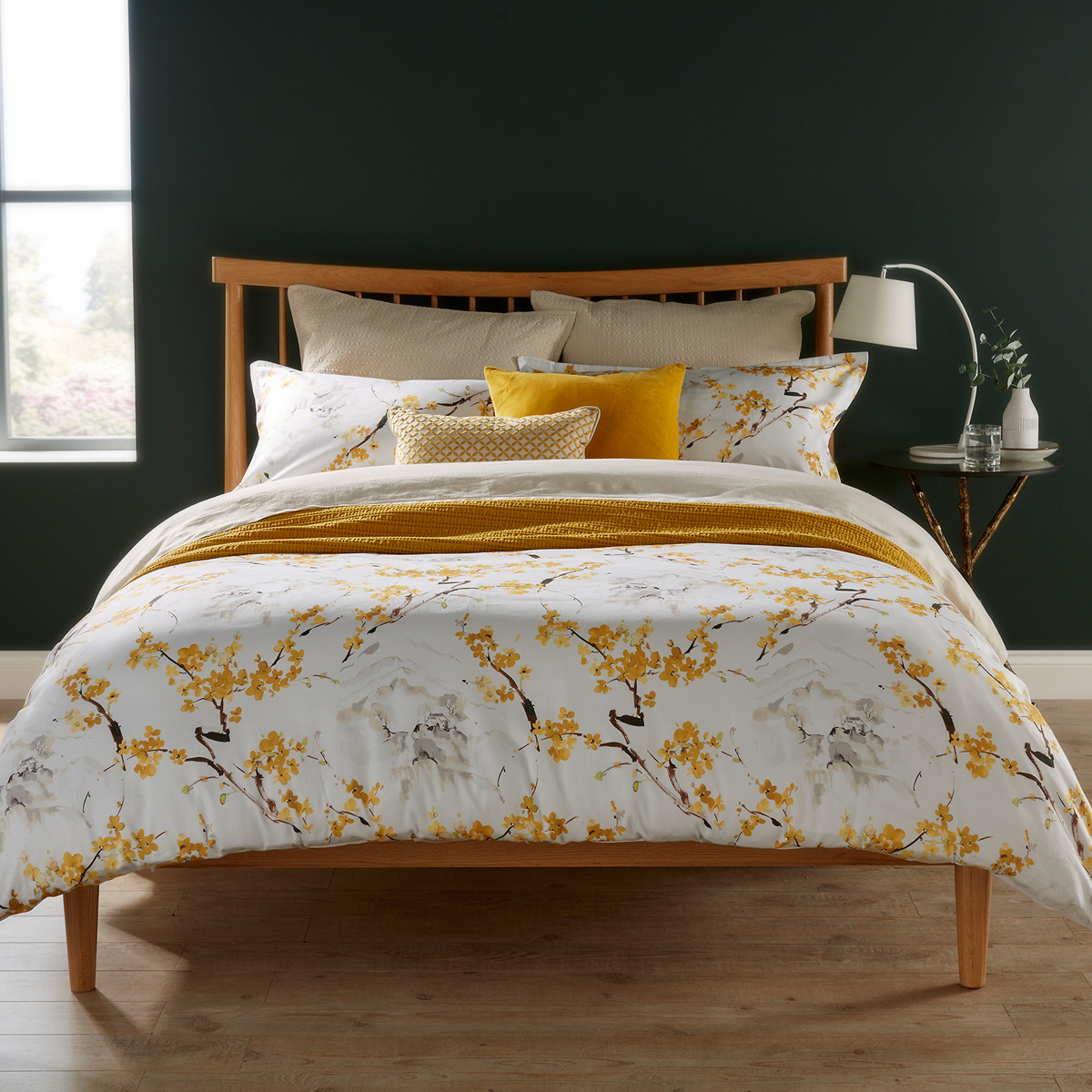 Christy Haruki Bed Linen Ochre Christy