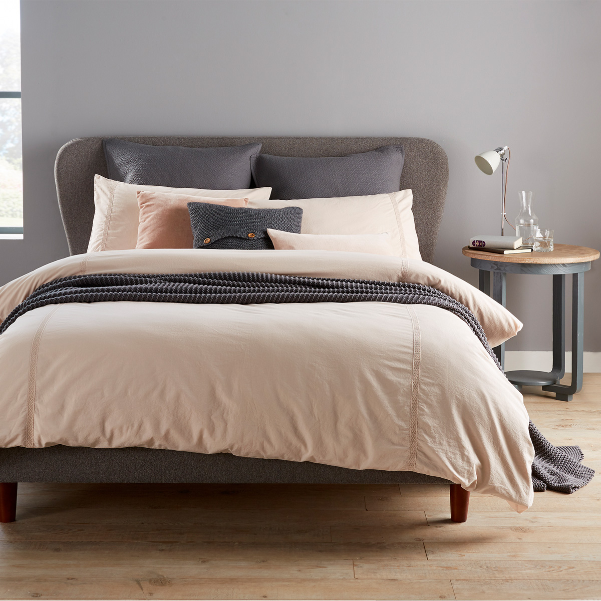 Christy Peonia Bed Linen Set Pink Christy