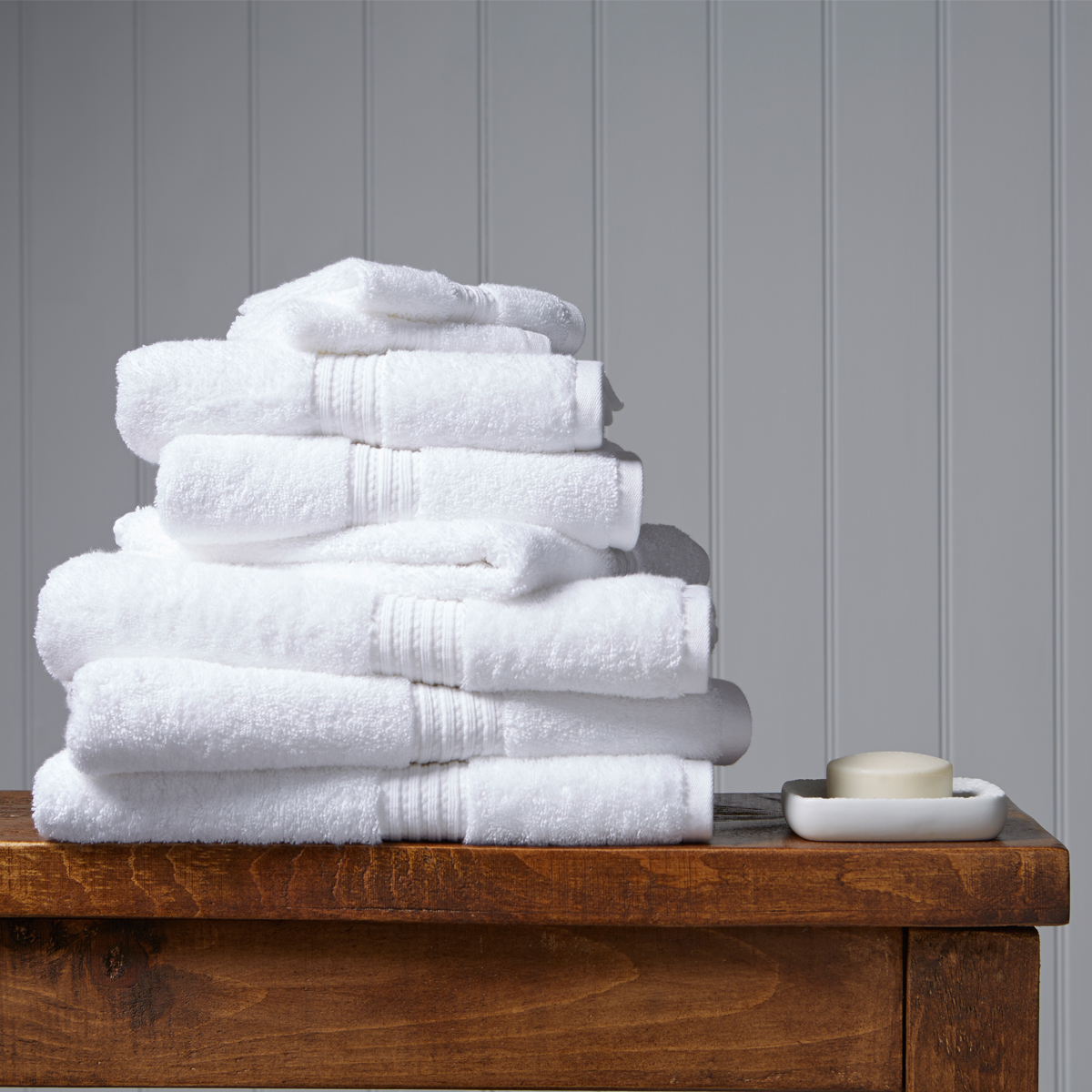 An image of Luxury Egyptian Cotton Plush Face Cloth in White by Christy
