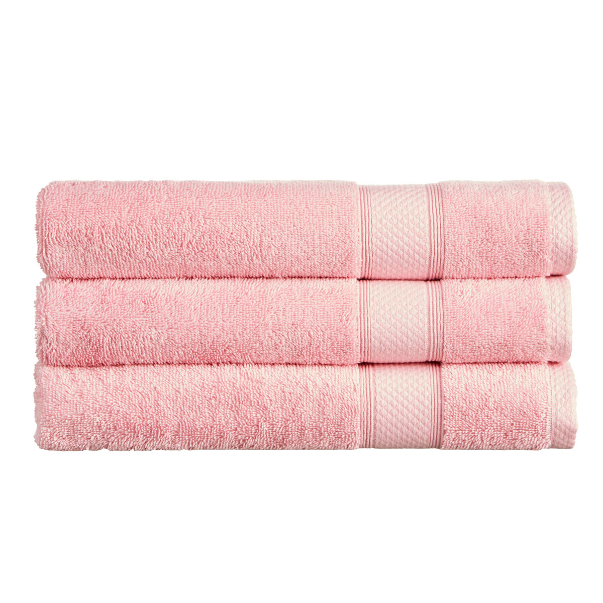 An image of Luxury Cotton Rialto Face Cloth in Blossom (Pink) by Christy