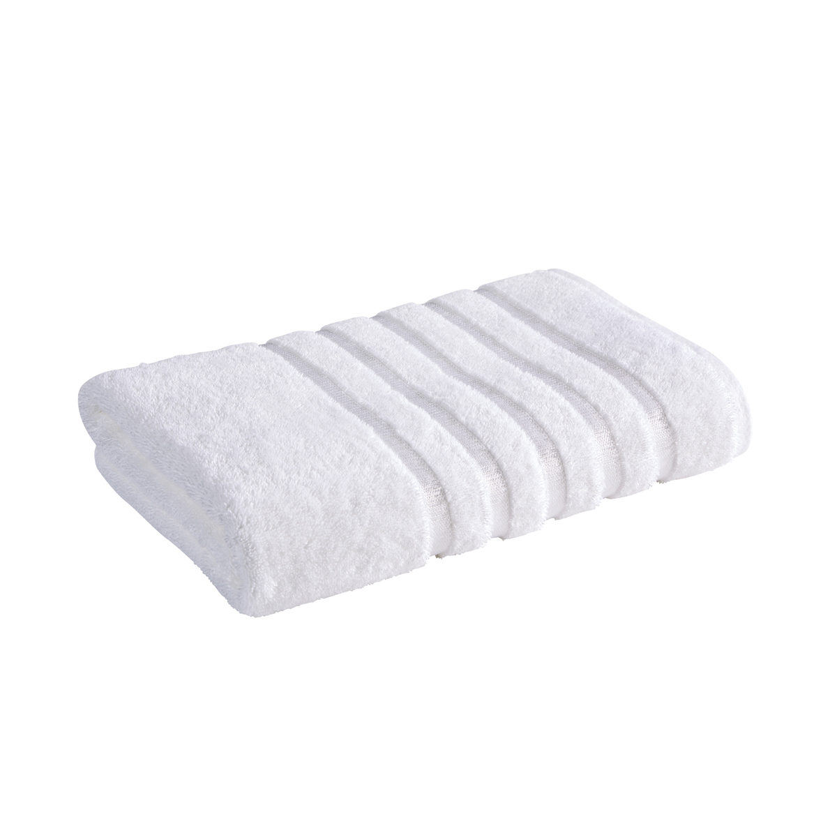 An image of Luxury Cotton Lifestyle Kingsley Face Cloth in White by Christy